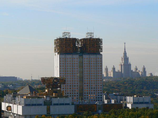 Siedziba główna Rosyjskiej Akademii Nauk w Moskwie (fot. mapio.net)
