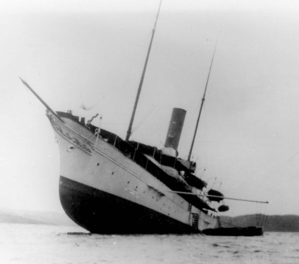 Wrak jachtu Gunilda
