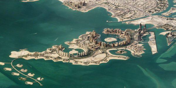 Doha, Katar - 11 listopada 2017 roku (fot. Planet Labs)