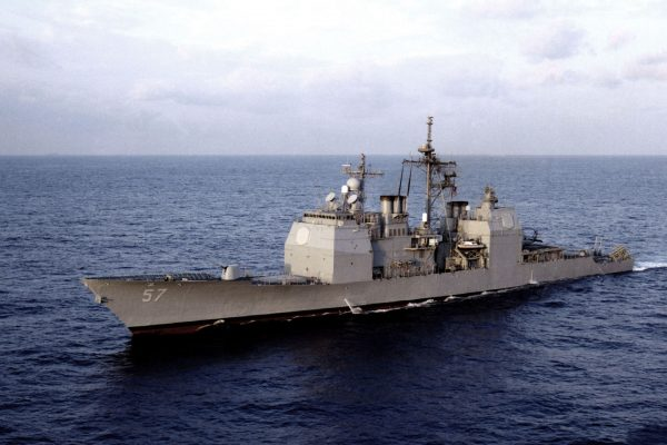 USS Lake Champlain (fot. US Navy)