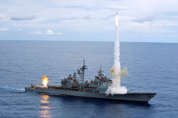 USS Cowpens (fot. US Navy)