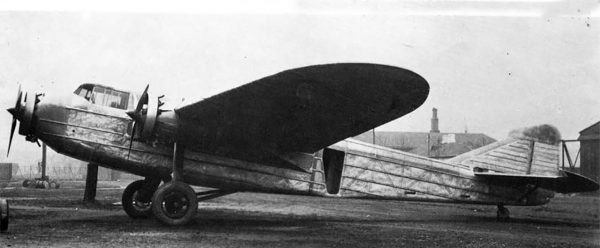 Samolot pasażerski PZL.4