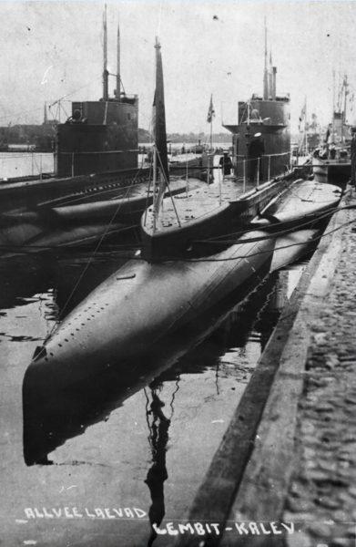 Okręty podwodne typu Kalev