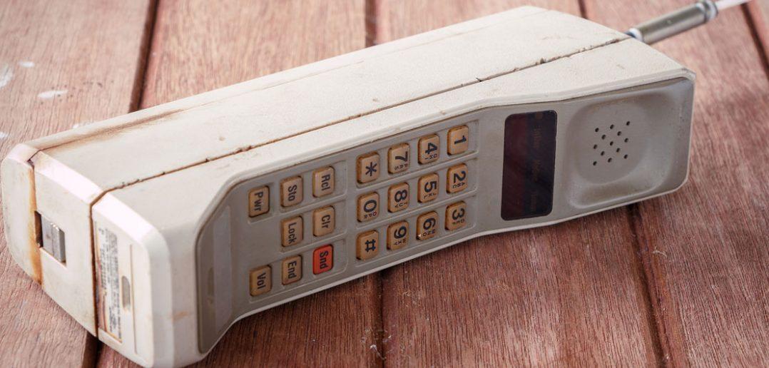 Motorola DynaTAC 8000X - pierwszy prawdziwy telefon komórkowy