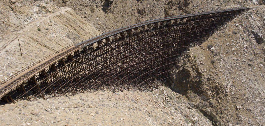 Goat Canyon Trestle - niesamowity wiadukt kolejowy w Kalifornii