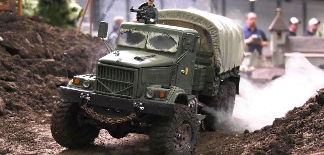 Niesamowite zdalnie sterowane modele pojazdów wojskowych