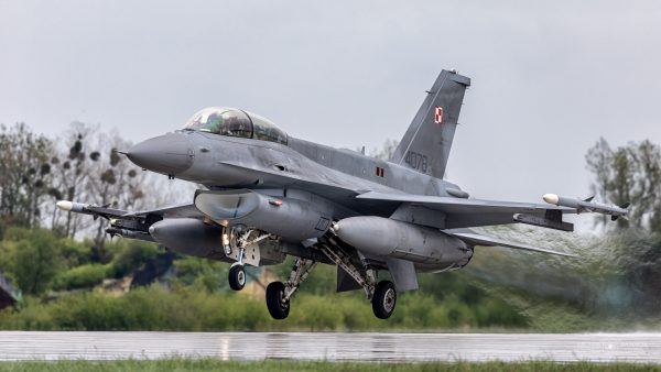 Lockheed Martin F-16D Jastrząb (4078) (fot. Michał Banach)