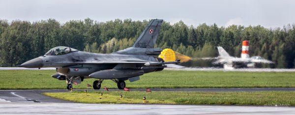 Lockheed Martin F-16C Jastrząb (4066) (fot. Michał Banach)