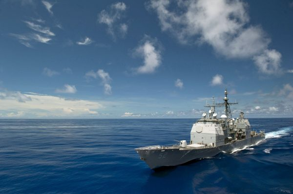 USS Bunker Hill (fot. US Navy)