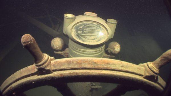 Wrak jachtu Gunilda współcześnie (fot. superiortrips.com)
