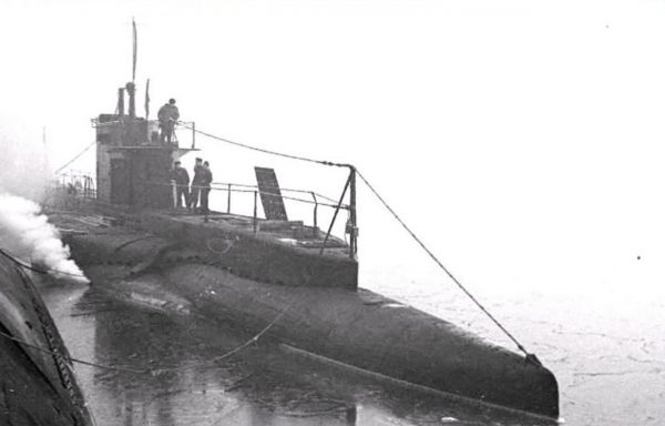Jeden z okrętów typu Kalev