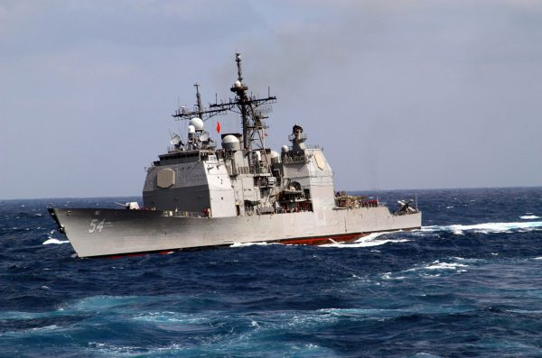 USS Antietam (fot. US Navy)