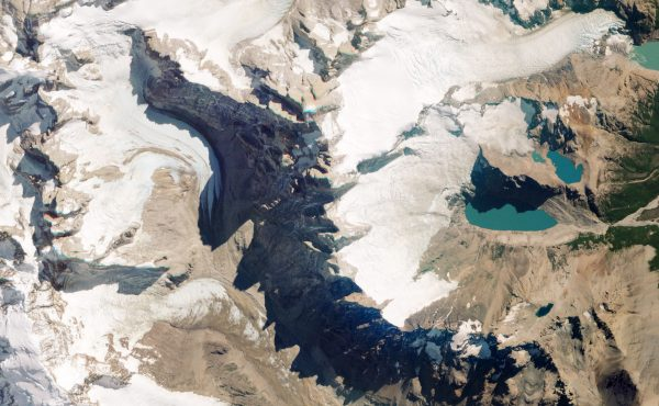 Monte Fitz Roy, Chile i Argentyna - 2 marca 2016 roku (fot. Planet Labs)