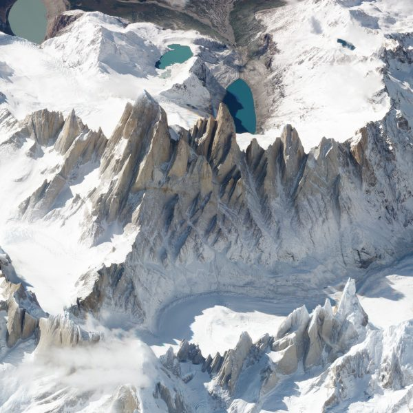 Monte Fitz Roy, Chile i Argentyna - 19 marca 2018 roku (fot. Planet Labs)