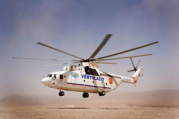 Mil Mi-26 (fot. Richard Frigge)