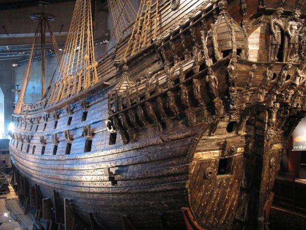 Galeon Vasa współcześnie (fot. Peter Isotalo)