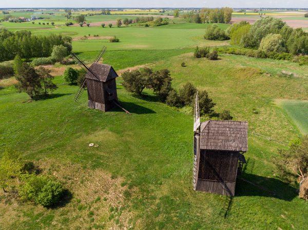 Wiatraki w Moraczewie (fot. Rafał Banach)