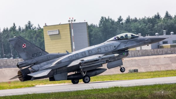 Lockheed Martin F-16C Jastrząb (4060) (fot. Michał Banach)