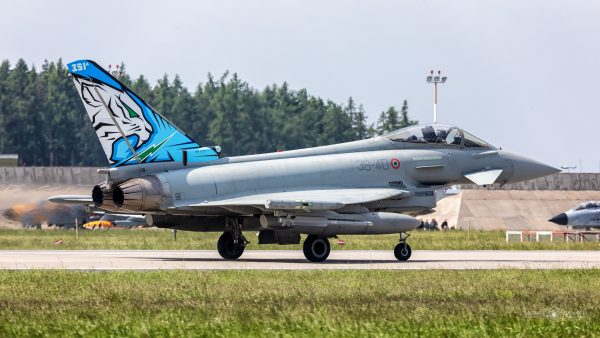 Eurofighter EF-2000 Typhoon (36-40) (fot. Michał Banach)