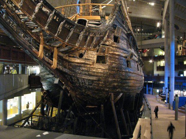 Galeon Vasa współcześnie