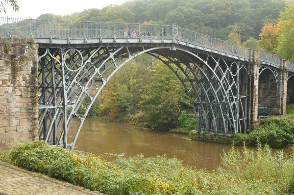 Iron Bridge (fot. Nilfanion/Wikimedia Commons)