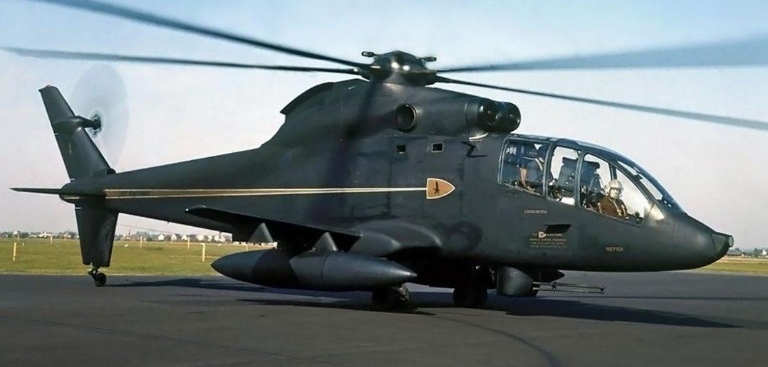 Doświadczalny śmigłowiec szturmowy Sikorsky S-67 Blackhawk