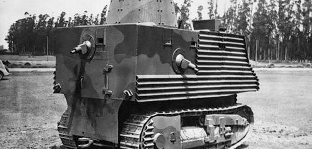 Bob Semple tank - prawdopodobnie najgorszy czołg w historii