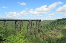 Most Kinzua - most który stał się punktem widokowym