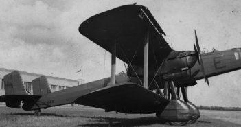 Handley Page Heyford - ostatni brytyjski dwupłatowy bombowiec strategiczny