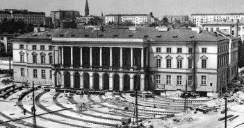 Przesunięcie Pałacu Lubomirskich w Warszawie
