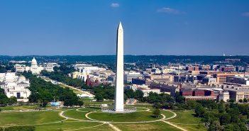 Washington Monument - jeden z najsłynniejszych pomników w Waszyngtonie