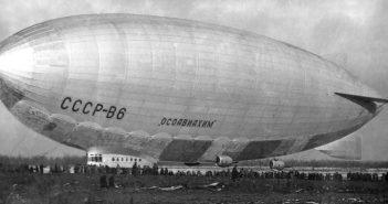 ZSRR-W6 Osoaviakhim- największy radziecki sterowiec