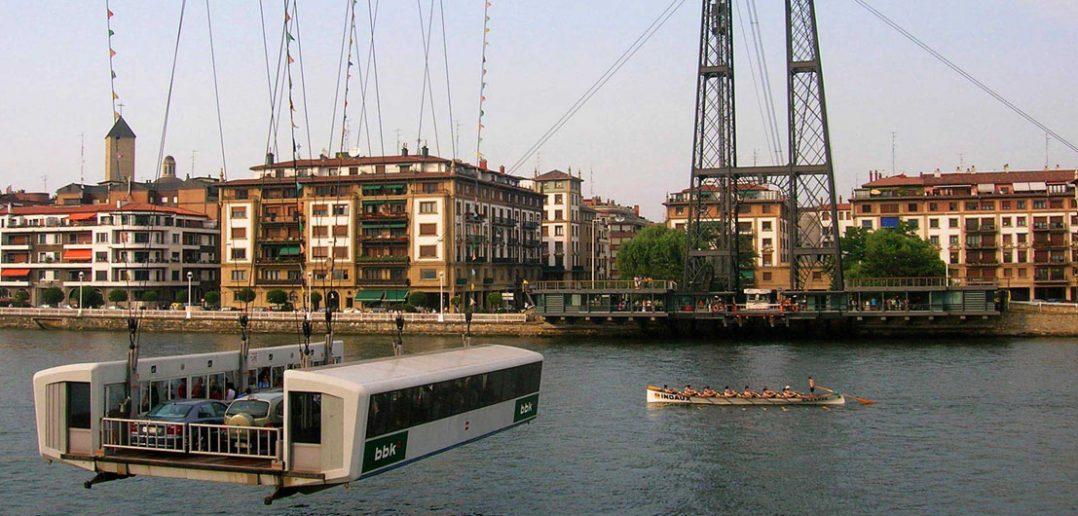 Most Biskajski - najstarszy most promowy na świecie