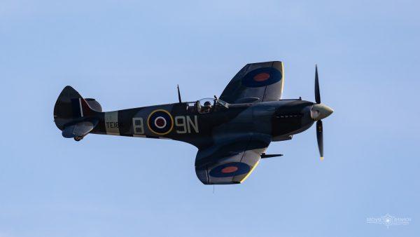 Supermarine Spitfire XVIE (fot. Michał Banach)