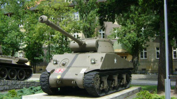 M36B1 sprowadzony do Polski z Iraku