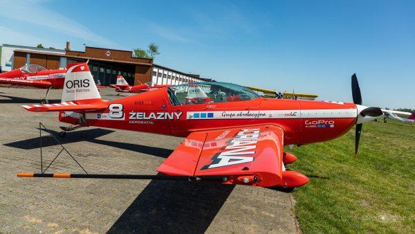 Extra 330 LC (SP-AUP) (fot. Michał Banach)
