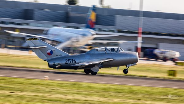 MiG-15UTI (fot. Michał Banach)