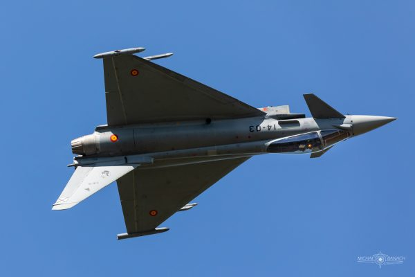 Eurofighter Typhoon (fot. Michał Banach)