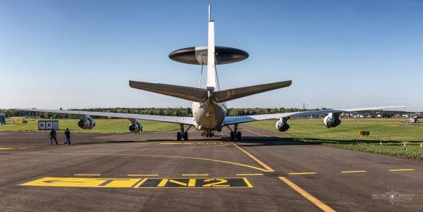 Boeing E-3A Sentry (LX-N90459) (fot. Michał Banach)