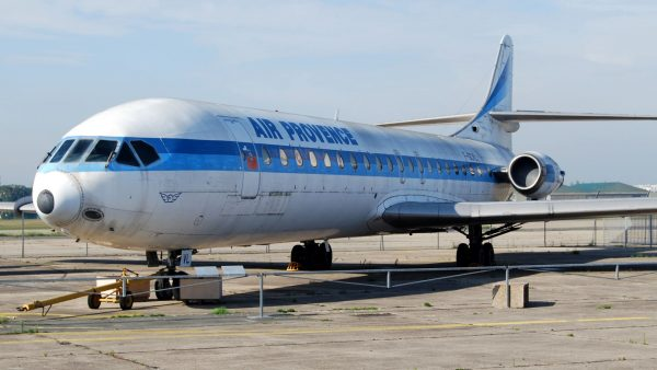 Sud Aviation Caravelle (fot. Roland Turner)