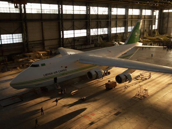 Libijski Antonow An-124 Rusłan (fot. Dmitry Karpezo)