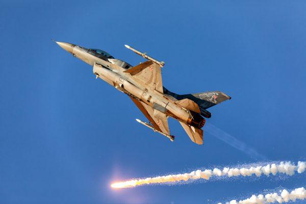 Lockheed Martin F-16C Jastrząb (4056) (fot. Michał Banach)