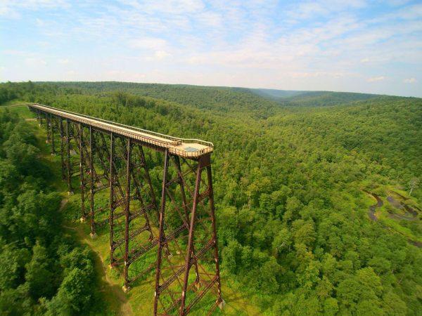 Kinzua Sky Walk (fot. Allegheny National Forest Visitors Bureau)
