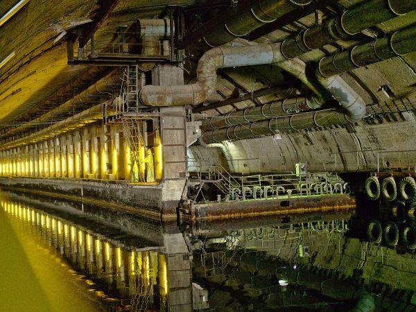 Baza okrętów podwodnych w Bałakławie - Obiekt 825 GTS (fot. Dmitry Dzhus)