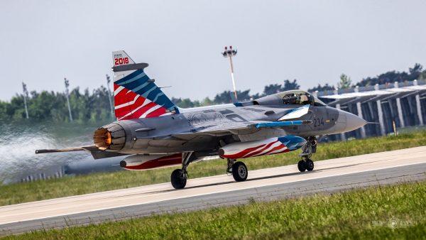 Saab JAS-39C Gripen (9234) (fot. Michał Banach)