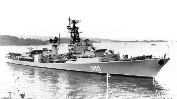 Jeden z niszczycieli projektu 57A