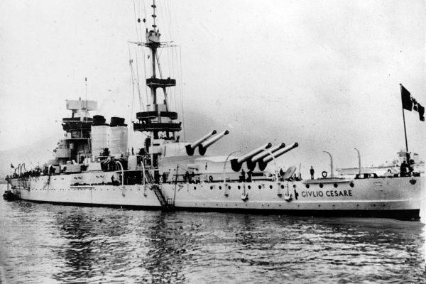 Pancernik Giulio Cesare po modernizacji