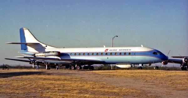Sud Aviation Caravelle (fot. Phillip Capper)