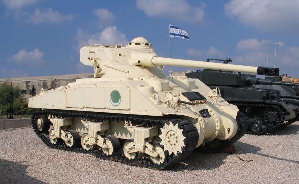 Egipski Sherman z wieżą FL-10