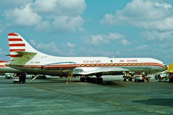 Sud Aviation Caravelle (fot. Ken Fielding)